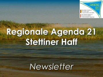 05.04.2005: Newsletter Nr. 1 RA Stettiner Haff - IKZM-Oder