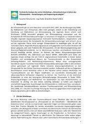 Technische Analyse des ersten Workshops - Küsten Union ...