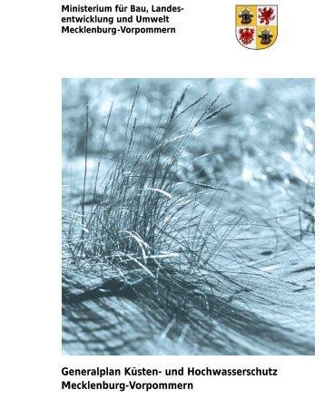Generalplan Küsten- und Hochwasserschutz ... - IKZM-D Lernen