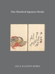 One Hundred Japanese Books
