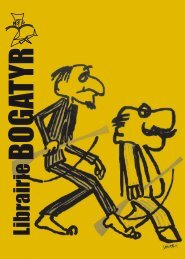 Deuxième catalogue - Librairie BOGATYR