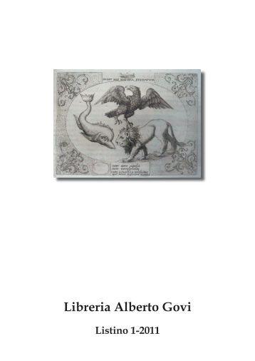 Libreria Alberto Govi - Libreria Antiquaria Alberto Govi