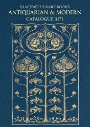 Download pdf - Blackwell's Rare Books