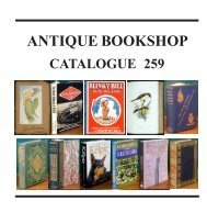 antique bookshop - International League of Antiquarian Booksellers