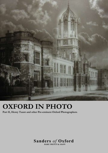Oxford in Photo