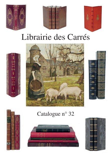 Catalogue Nâ 32 Librairie Des Carrãs