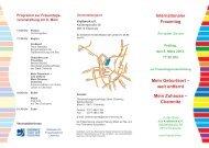 Internationaler Frauentag am 8. März 2013 - Chemnitz