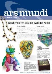 Geschenkideen aus der Welt der Kunst - WBG