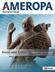 Kunst und Kultur 2013-2014 - Ameropa-Reisen