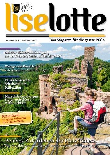 """Liselotte"" - Ausgabe Frühling Sommer 2013 als PDF-Datei"