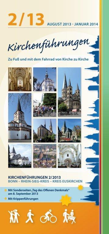 Kirchenführungen 2/2013 - Erzbistum Köln