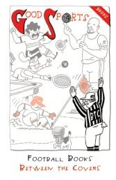 Football books between the Covers