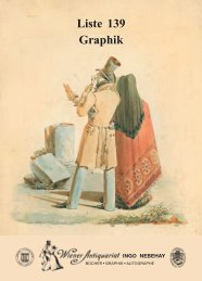 Liste 139 Graphik - International League of Antiquarian Booksellers