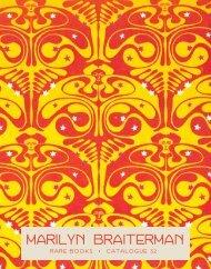 Marilyn Braiterman - International League of Antiquarian Booksellers