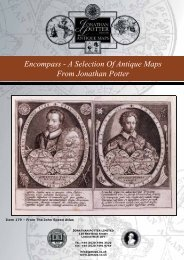 Encompass - A Selection of Antique Maps from Jonathan Potter