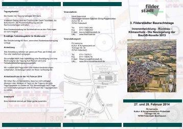 geht es zum Flyer - Stadt Filderstadt