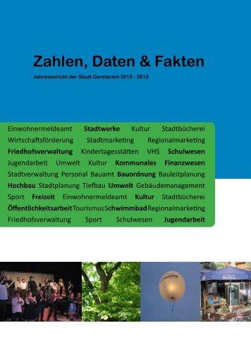 Zahlen, Daten & Fakten - Stadt Geretsried