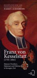 Franz von Kesselstatt - Bischöfliches Dom
