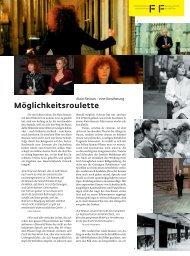 Auszug als pdf - Filmbulletin