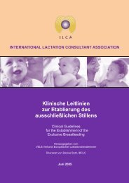 Druckvorlage farbig - International Lactation Consultant Association