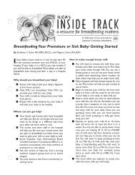 Breastfeeding Your Premature or Sick Baby: Getting Started
