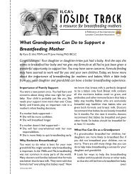 What Grandparents can do to Support a Breastfeeding Mother