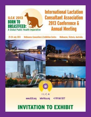 Exhibitor Prospectus - International Lactation Consultant Association