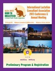 Conference Brochure - International Lactation Consultant Association
