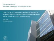 The Concept Of Trade- Relatedness Of Intellectual Property