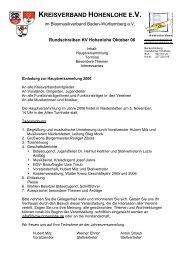 KREISVERBAND HOHENLOHE E.V. - Blasmusik-Kreisverband ...