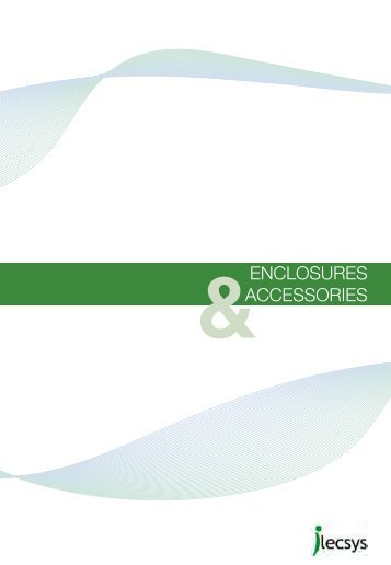 Enclosure Catalogue - iLECSYS