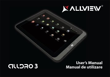 Manual Allview AllDro 3 Descarca - ILEX