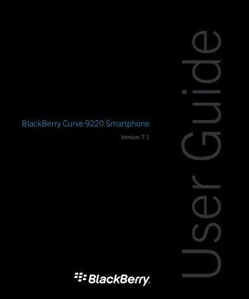 BlackBerry Curve 9220 Smartphone - ILEX