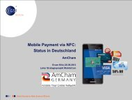 Mobile Payment - AmCham Germany