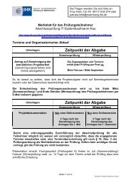 Merkblatt IT-Systemkaufmann/-frau