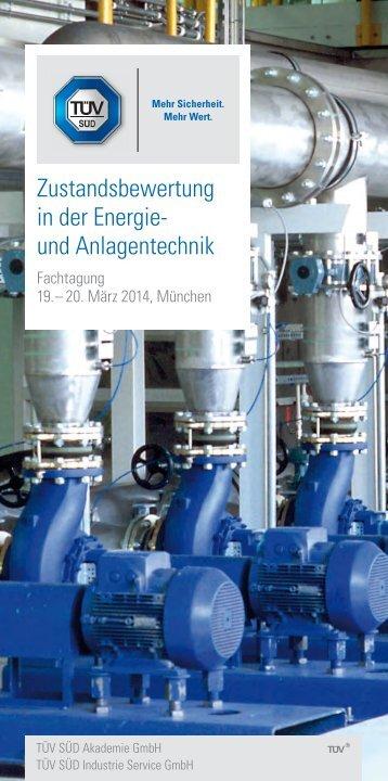 Zustandsbewertung in der Energie- und Anlagentechnik