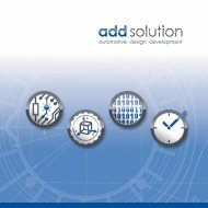 add solution Firmenbroschüre 2013 - add solution GmbH