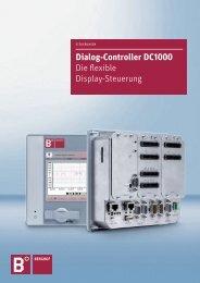 Dialog-Controller DC1000 Die flexible Display-Steuerung - Berghof