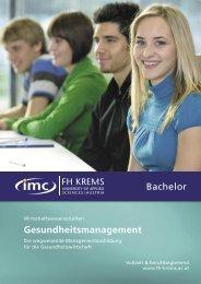Gesundheitsmanagement Bachelor