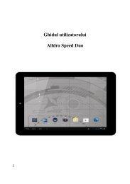 Manual Allview AllDro Speed DUO Romana Descarca - ILEX