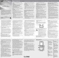 Manual Samsung E1230 Romana Descarca - ILEX
