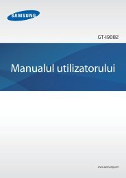 Manual Samsung Galaxy Grand Duos I9082 Romana Descarca - ILEX