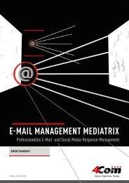 E-Mail ManagEMEnt MEdiatrix - 4Com