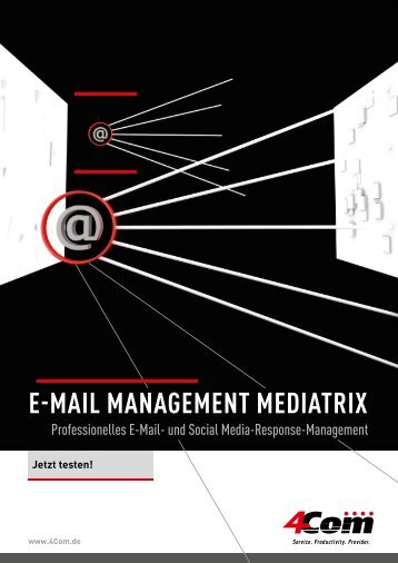 E-Mail ManagEMEnt MEdiatrix - 4Com
