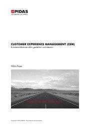 CUSTOMER EXPERIENCE MANAGEMENT (CEM) - CRM Finder