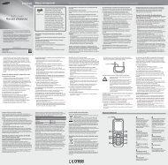 Manual Samsung E1232 Dual SIM Romana Descarca - Ilex
