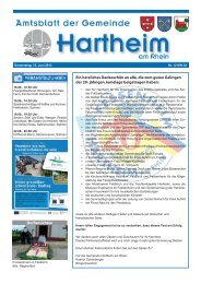 Gemeindeblatt 2013 KW24 - Gemeinde Hartheim