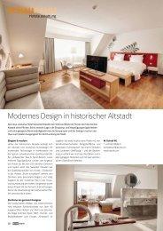 SCHAURAUM Modernes Design in historischer Altstadt - Hotelstyle