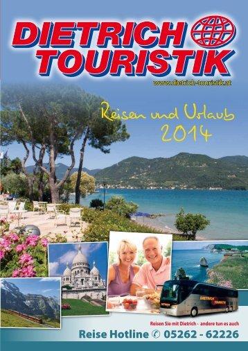 Hauptkatalog Österreich 2014 - Dietrich-Touristik