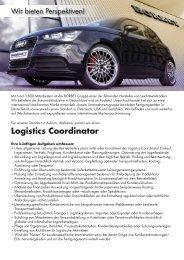 Logistics Coordinator - Borbet
